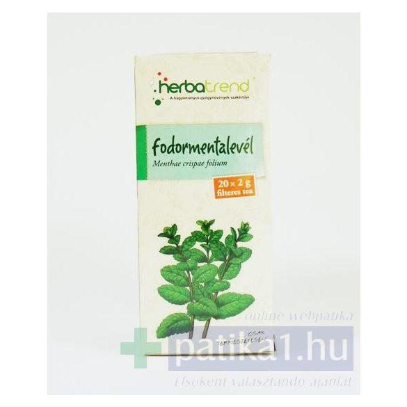 Fodormenta filteres herbatrend tea 20x 2g