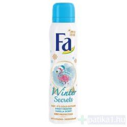 Fa Deo spray női vaníliás Winter Secrets 150 ml limited edition
