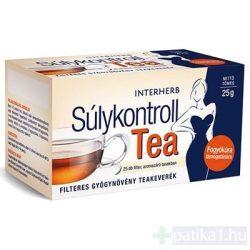 Interherb Súlykontroll tea filteres 25x