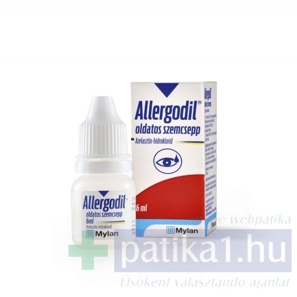Allergodil szemcsepp 6 ml