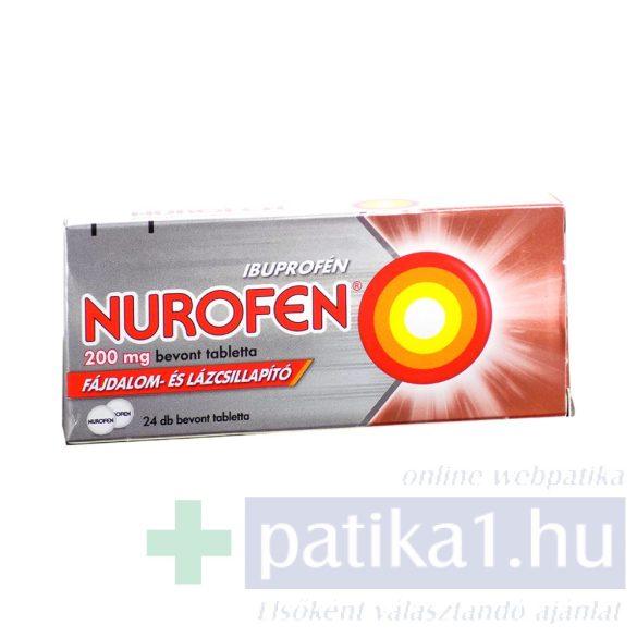Nurofen 200 mg bevont tabletta 24 db