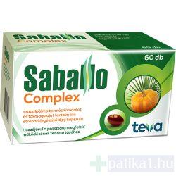 Saballo Complex lágy kapszula 60 db
