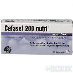 Cefasel 200 Nutri szelén tabletta 20x