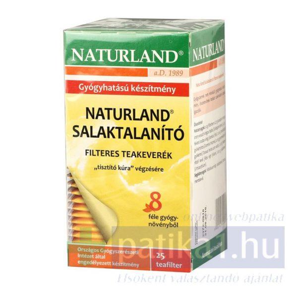 Naturland Salaktalanító filteres teakeverék 25 x1g