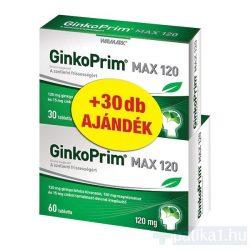 GinkoPrim MAX 120 mg 60+30 db tabletta