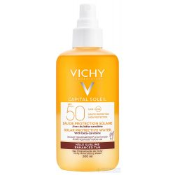 VICHY Capital Soleil Ultra könnyű napvédő spray béta-karotinnal SPF50+ 200 ml