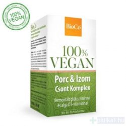 BioCo Vegan Porc-Izom-Csont Komplex filmtabletta 90 db 100% vegán