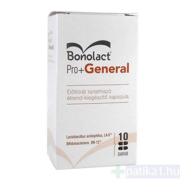 Bonolact Pro + General étrendkiegészítő kapszula 14 db