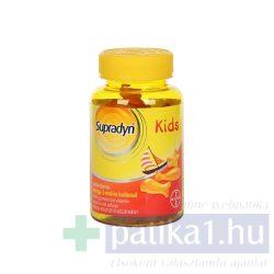 Supradyn Kids Omega-3 multivitamin 30 db gumicukor