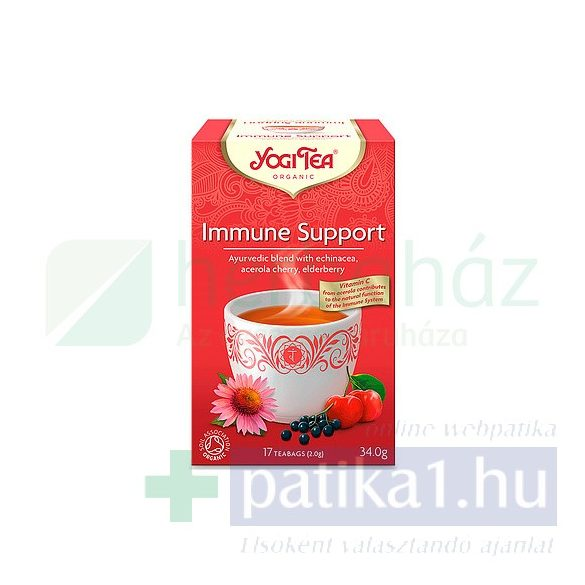 YogiTea Bio Immunerősítő tea 17 db filteres
