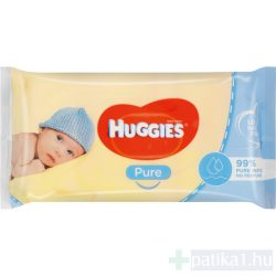Huggies baba törlőkendő Pure 56x