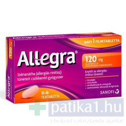 Allegra 120 mg filmtabletta 30 db