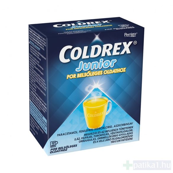 Coldrex Junior por belsőleges oldathoz 10 db