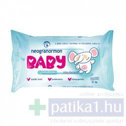 Neogranormon baba törlőkendő sensitiv 55x