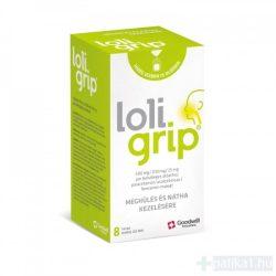 Loligrip 500mg/200 mg/25mg por belsőleges oldathoz 8x