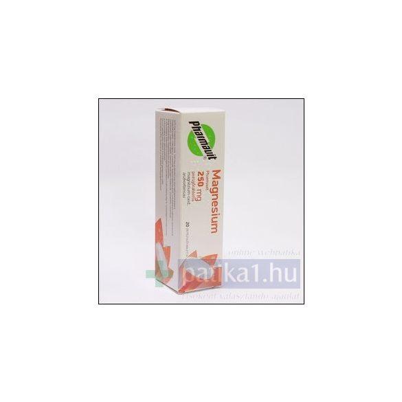 Magnesium Pharmavit 250 mg pezsgőtabletta 20 db
