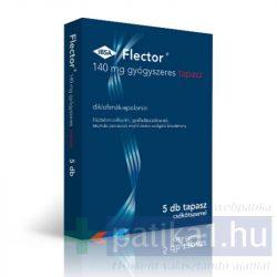 Flector 140 mg gyógyszeres tapasz 5 db