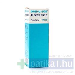 Ben-U-Ron 40 mg/ml szirup 100 ml