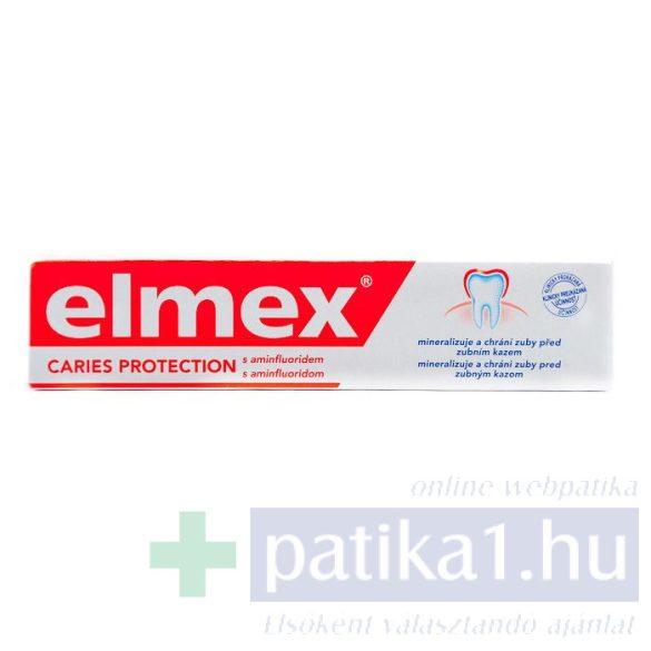 Elmex fogkrém Caries Protection Red 75 ml fogszuvasodás ellen