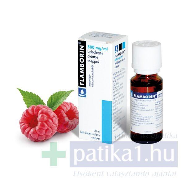 Flamborin 500 mg/ml belsőleges oldatos cseppek 20 ml