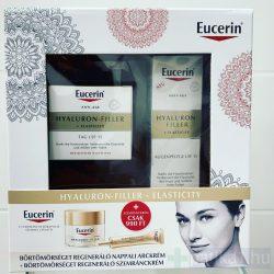 Eucerin Hyaluron-Filler + Elasticity nappali krém + szemránckrém csomag (50 ml+15 ml)