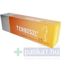 Terbisil 10 mg/g krém 15g