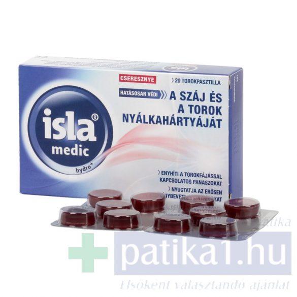 Isla Medic Hydro + pasztilla cseresznye 20 db
