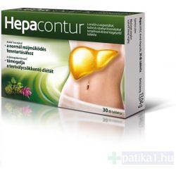 Hepacontur étrendkiegészítő tabletta 30 db