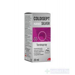 Coldisept NanoSILVER torokspray 20 ml