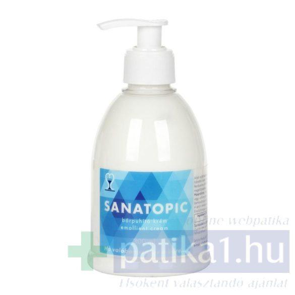 Sanatopic bőrpuhító krém testápoló 300 ml