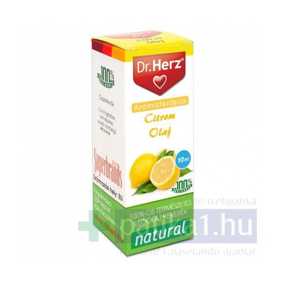 Dr. Herz Citrom illóolaj 10 ml