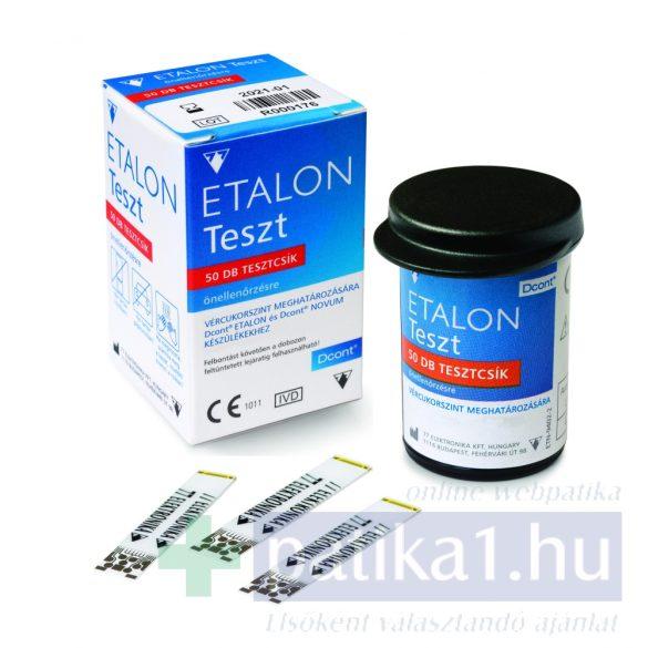 DCont Etalon tesztcsík 50 db