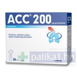ACC 200 mg granulátum 30x 3g