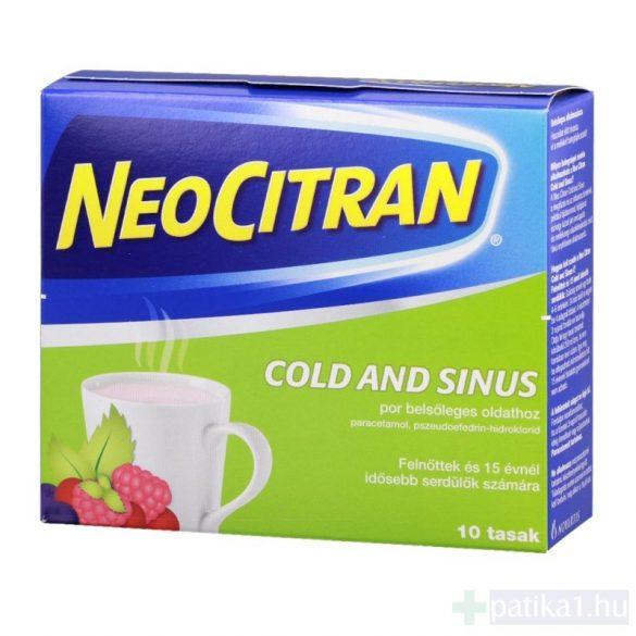 Neo Citran Cold and Sinus por belsőleges oldathoz 10 db