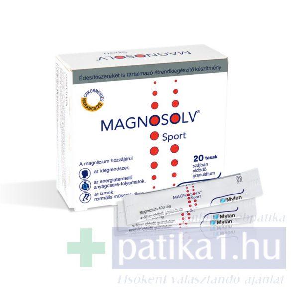 Magnosolv Sport 400 mg granulátum 20 db