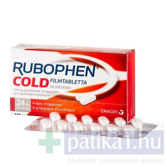 Rubophen Cold filmtabletta 24 db