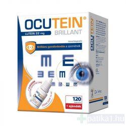 Ocutein Brillant Lutein 22 mg kapszula 120 db + Ocutein Sensitive Care szemcseppel