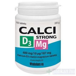 Calci Strong + Mg + D3 tabletta 150x