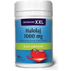 Interherb XXL 90 db Halolaj 1000 mg kapszula
