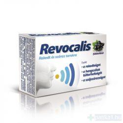 Revocalis szopogató tabletta feketeribizli 12 db - közeli lejárat 2021.05.31.