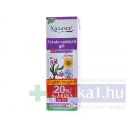 Naturstar fekete nadálytő forte gél DUPLA kiszerelés 2x 60 ml