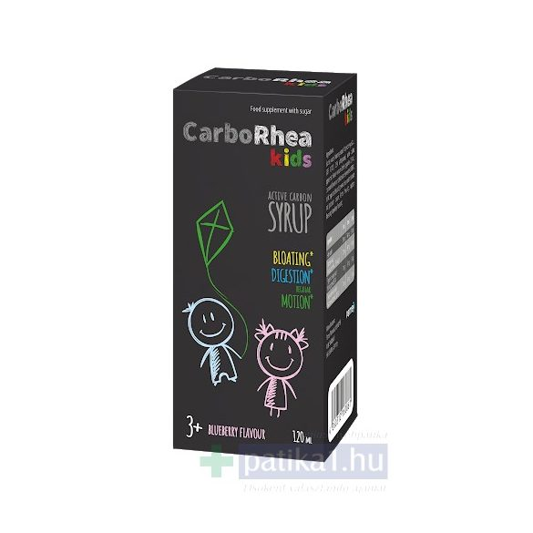 CarboRhea kids aktív szén folyadék 120 ml