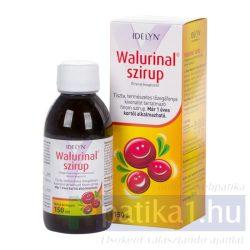 Walurinal szirup tőzegáfonya 150 ml