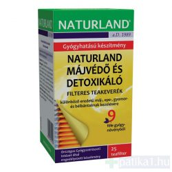 Naturland Májvédő és detoxikáló tea 25 filter
