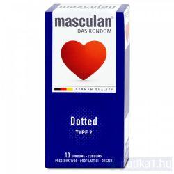 Óvszer Masculan 2 lila érdesített 10 db