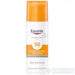 Eucerin Sun Anti-age napozókrém arcra FF50 50 ml