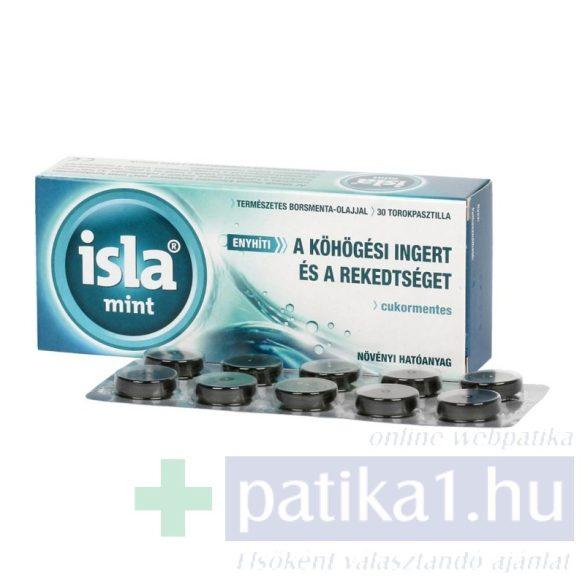 Isla-Mint szopogató tabletta 30 db