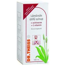 Dr. Theiss Lándzsás útifű echinacea C-vitamin szirup 100 ml