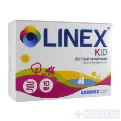 Linex KID élőflórás étrendkiegészítő por 14x