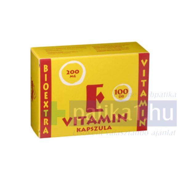 Vitamin E Bioextra 200 mg lágy kapszula 100 db